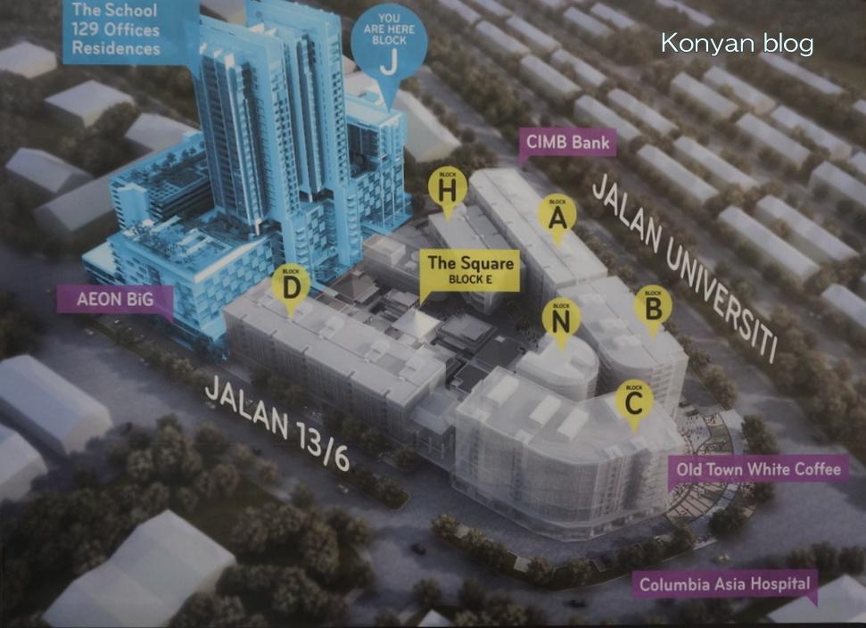 JayaOne 地図