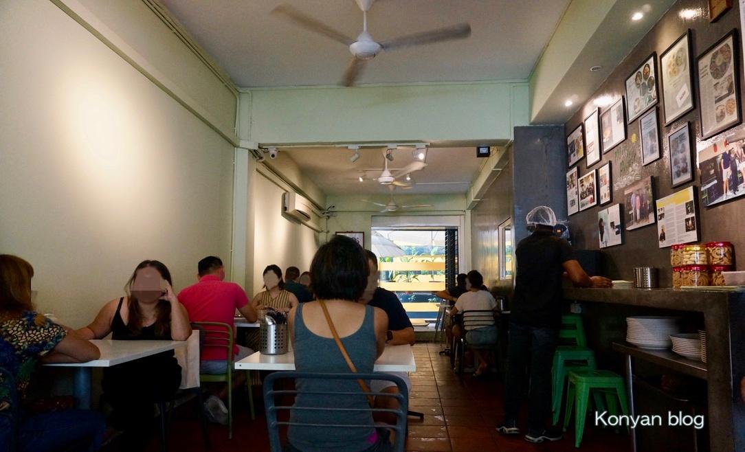 Ganga cafe 内観