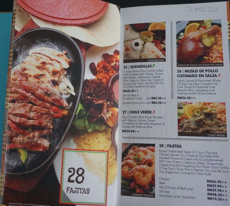 las carretas menu 3