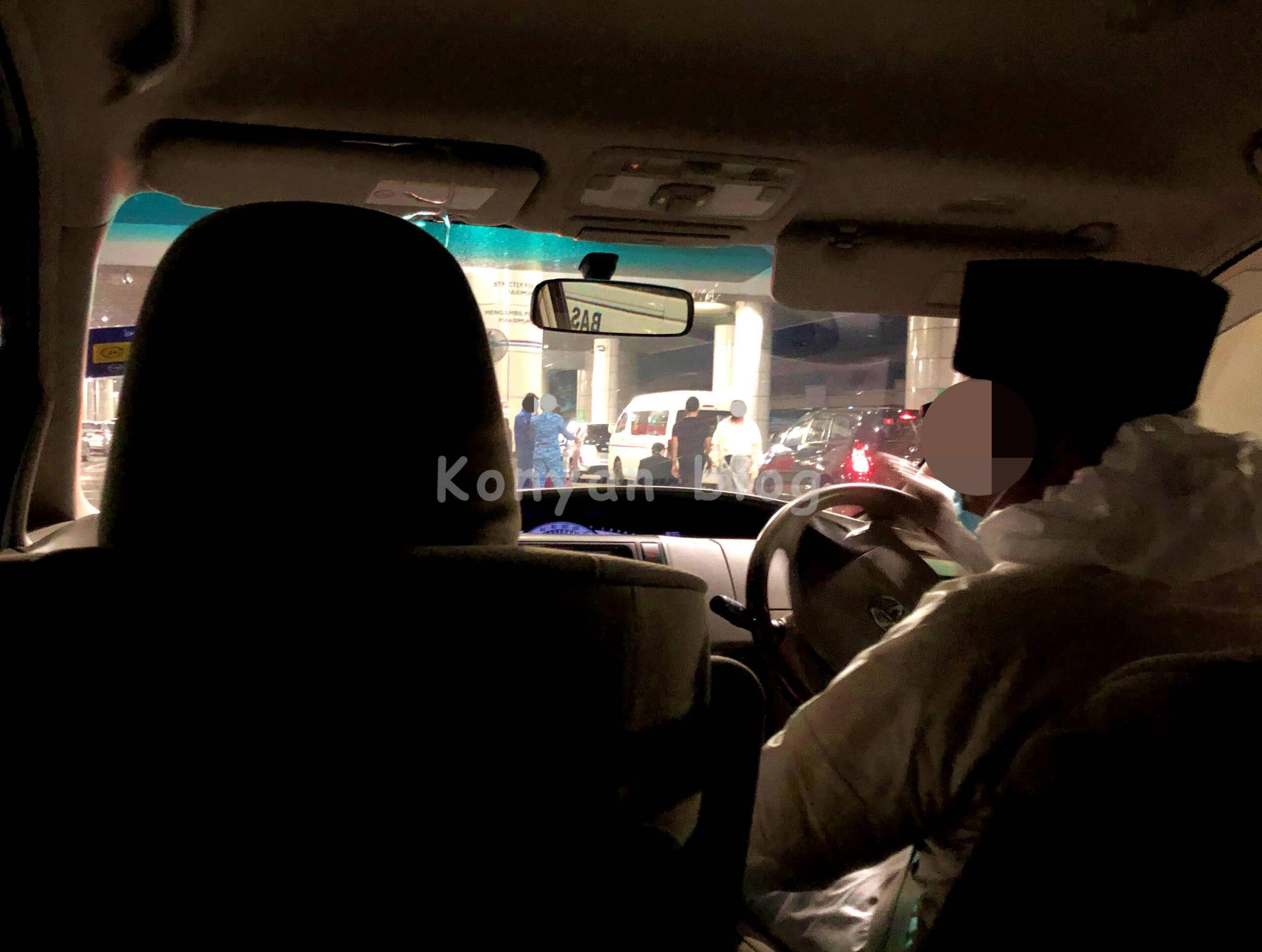 KLIA タクシー 隔離ホテルへの移動