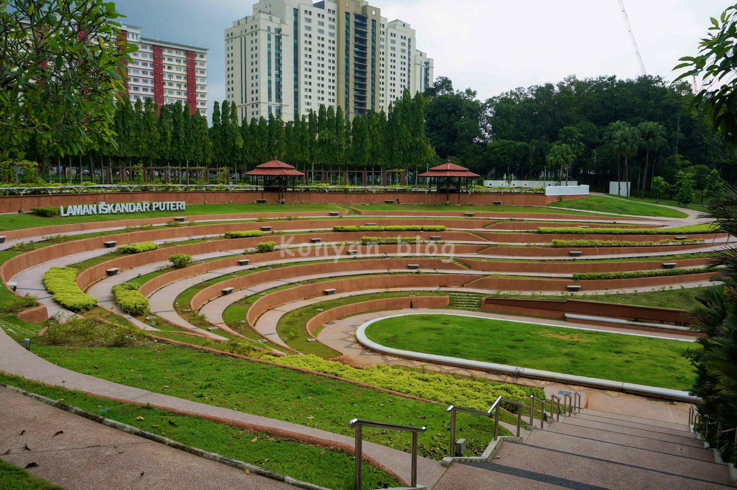 Taman Tasik Permaisuri 公園 広場