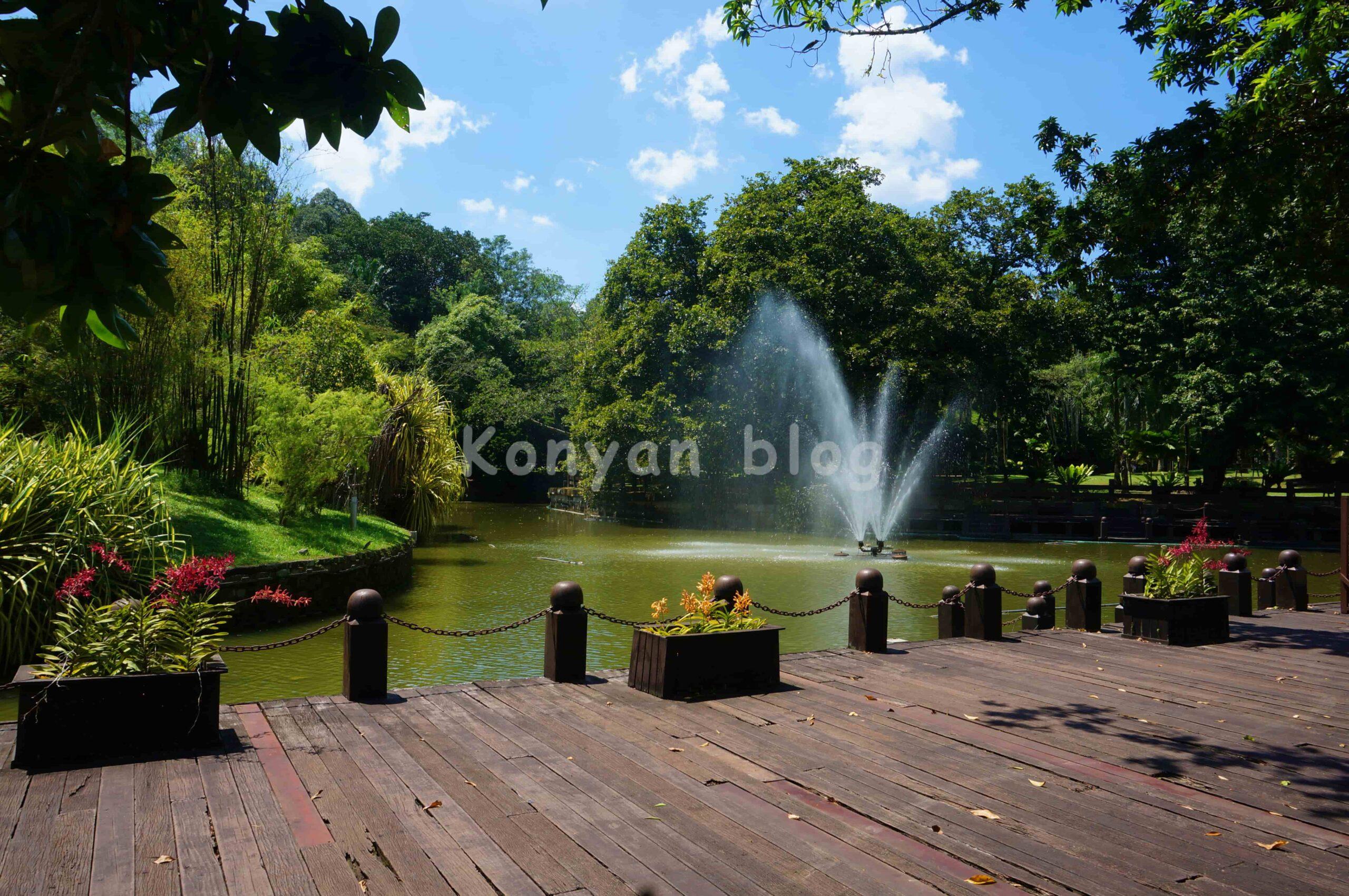 Perdana植物園 噴水