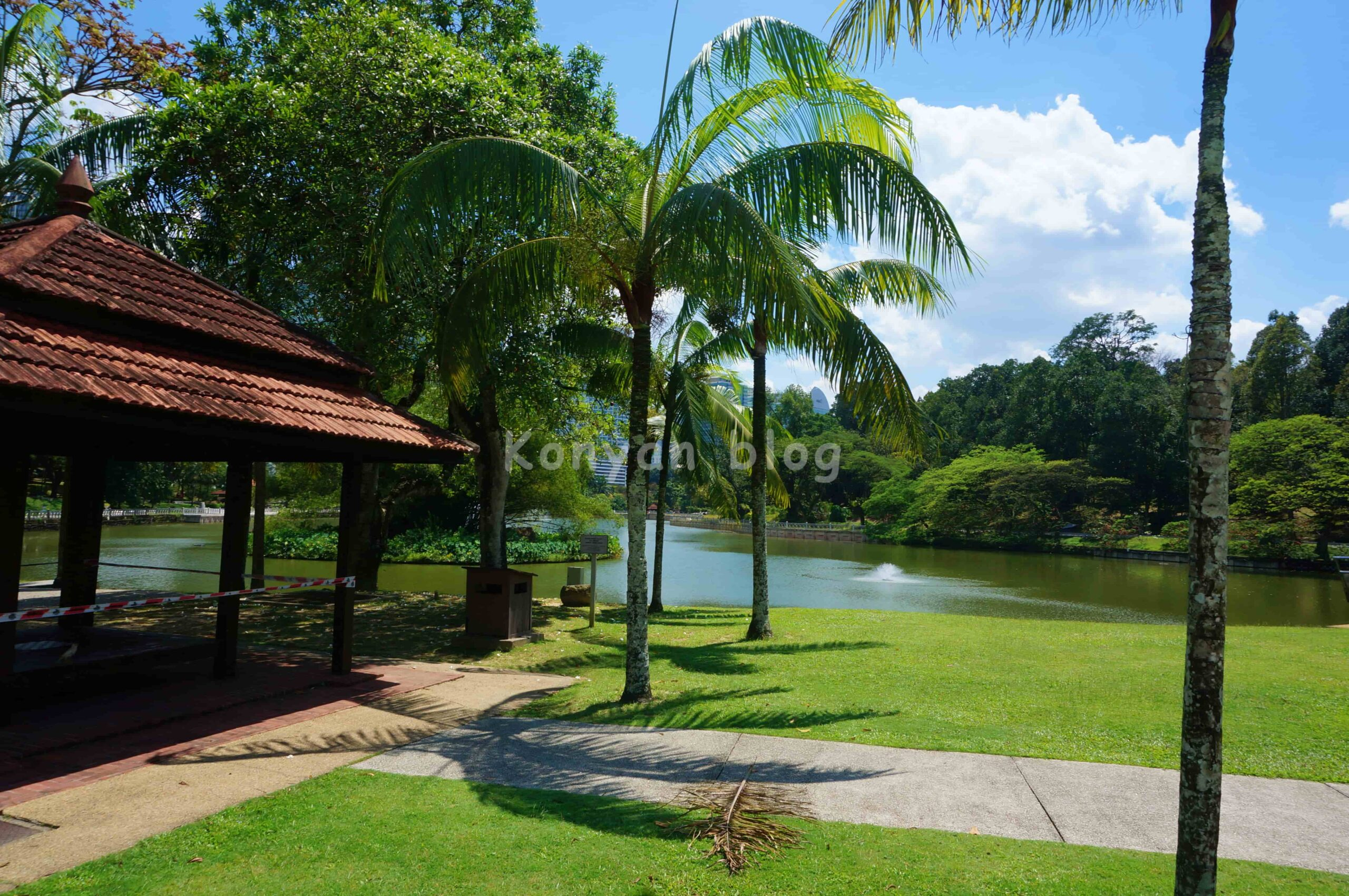 Perdana植物園 池