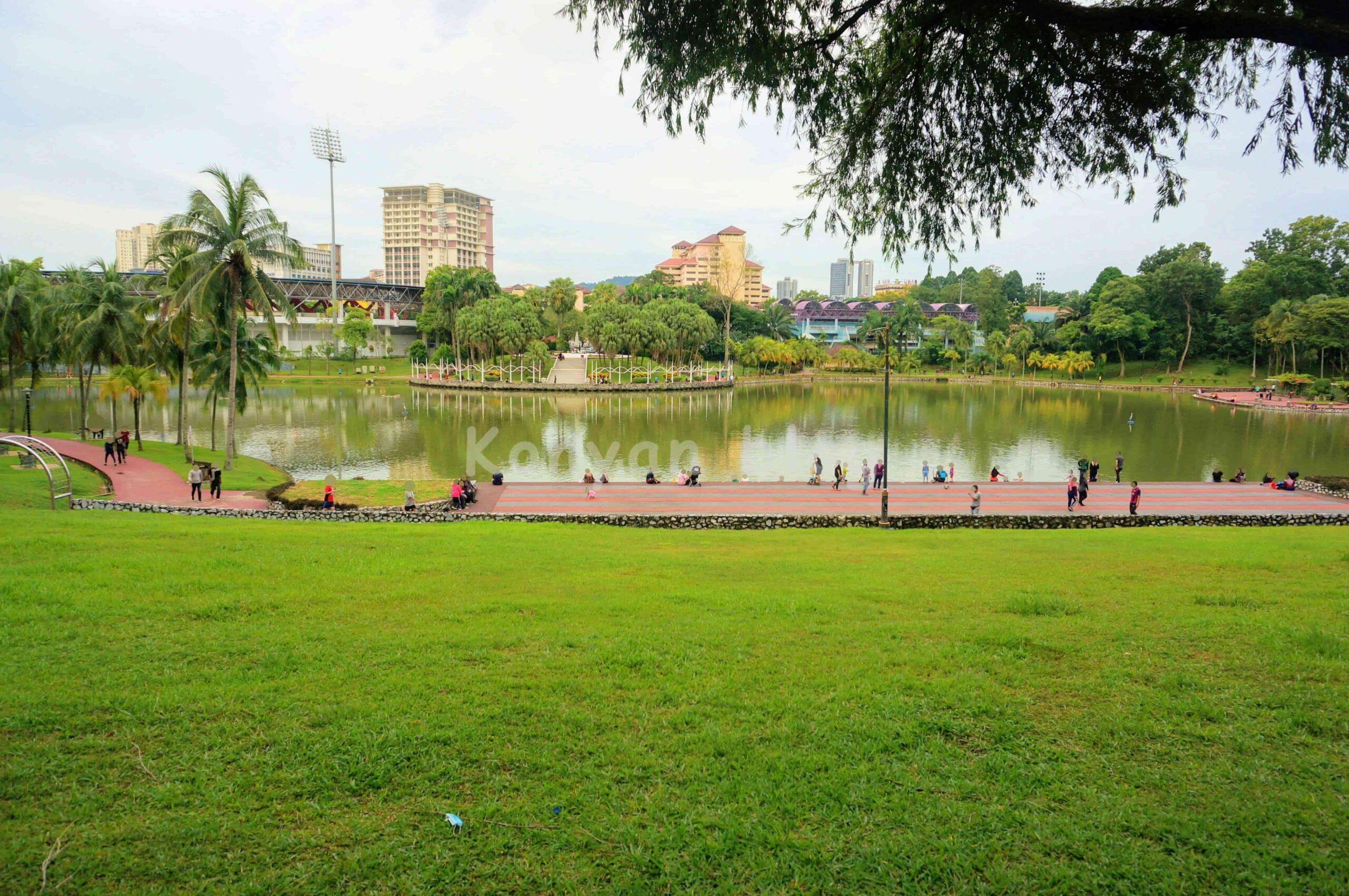 Taman Tasik Permaisuri 公園 池