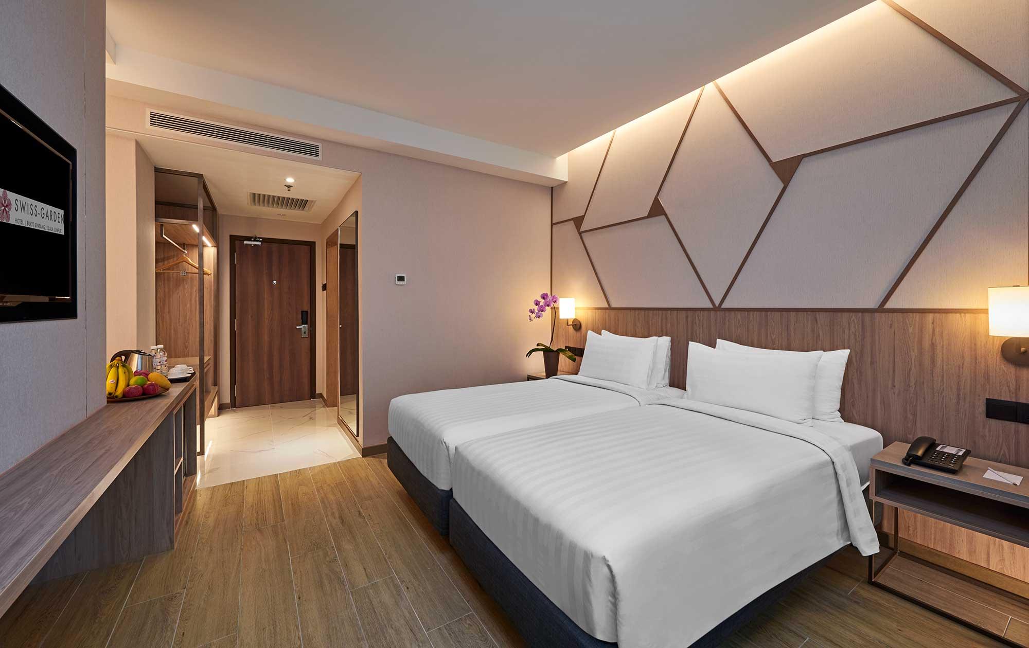 Deluxe Twin swiss garden hotel