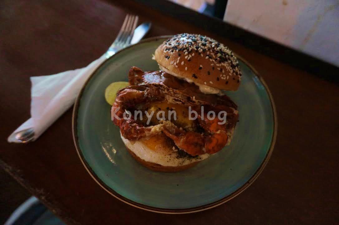 VCR bukit bintang kl crab burger