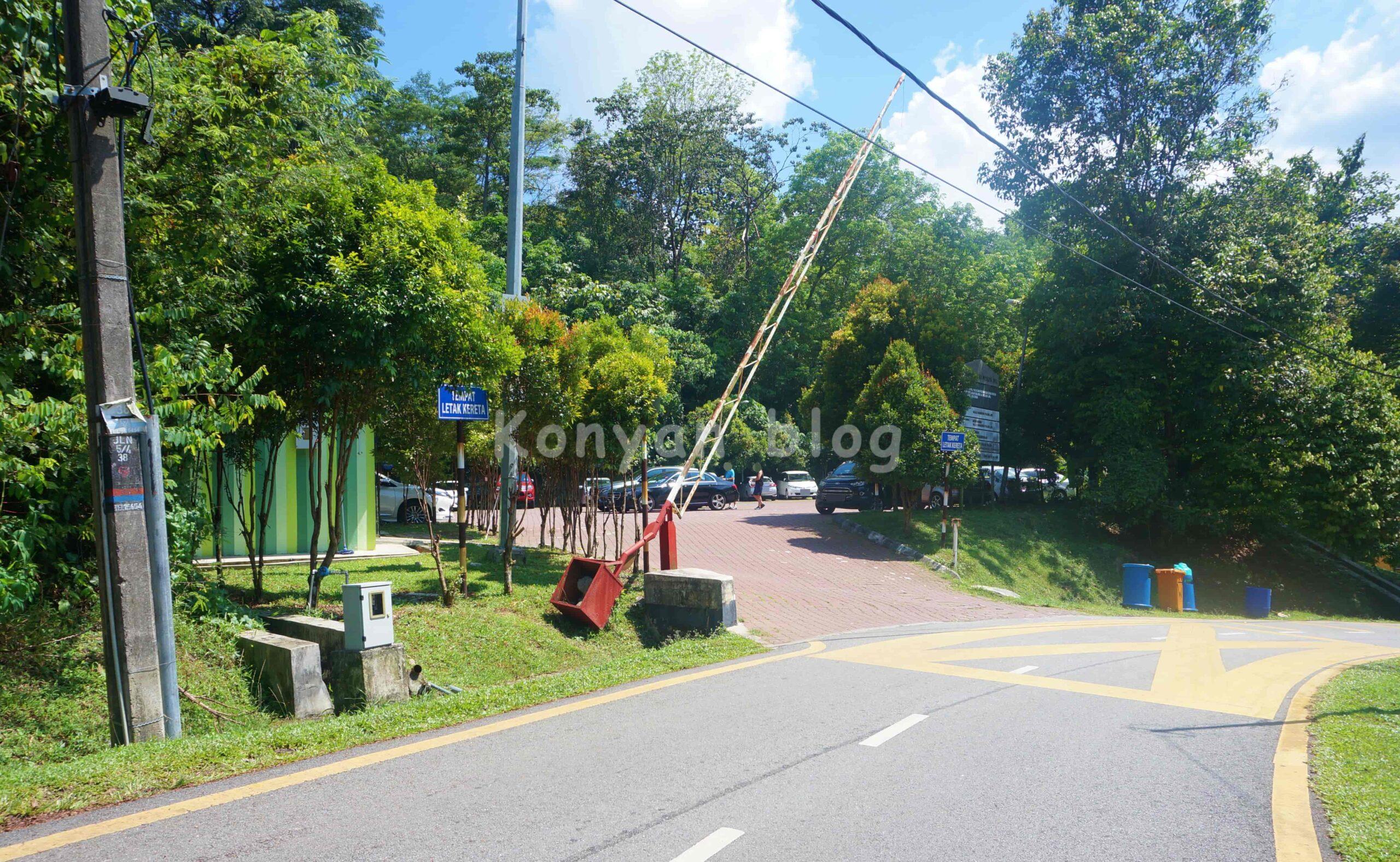 Hutan Pendidikan Bukit Gasing 駐車場