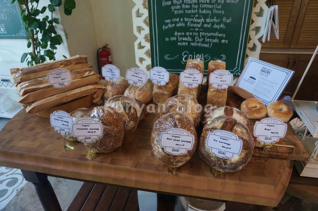 kenny hills bakers taman tunku bread