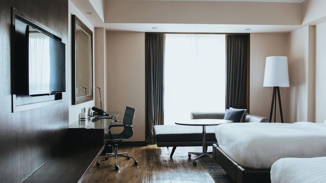 deluxe room marriot hotel