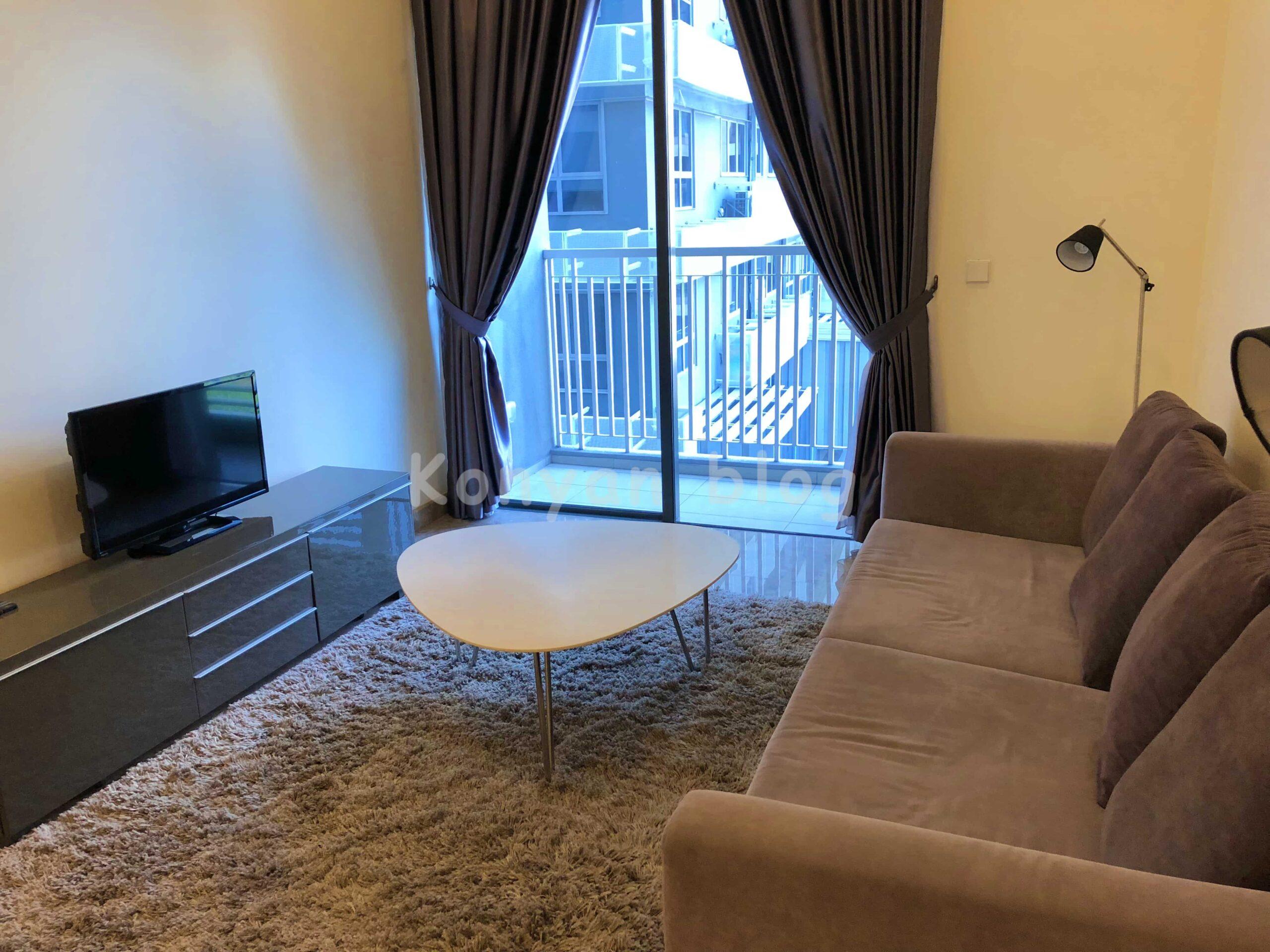 full furnish 家具付き malaysia