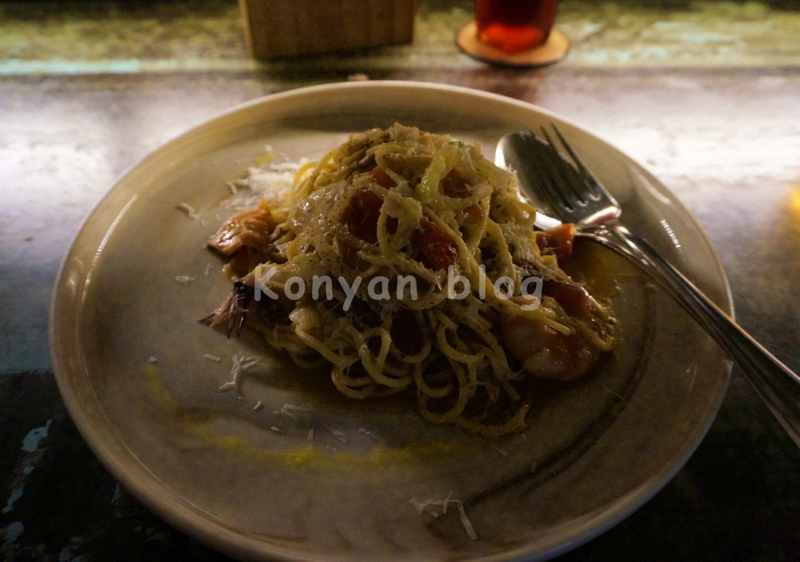Proof Pizza + Wine spaghetti