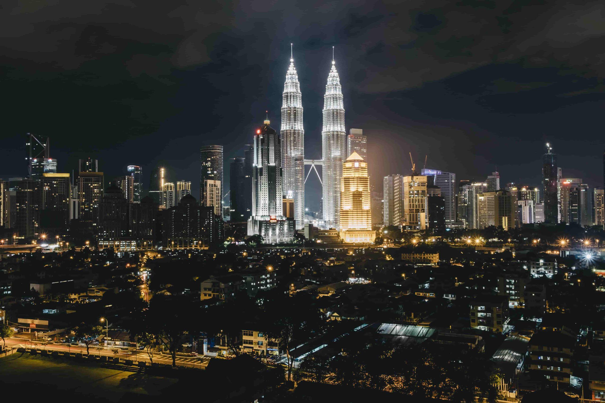 マレーシア ペトロナスタワー