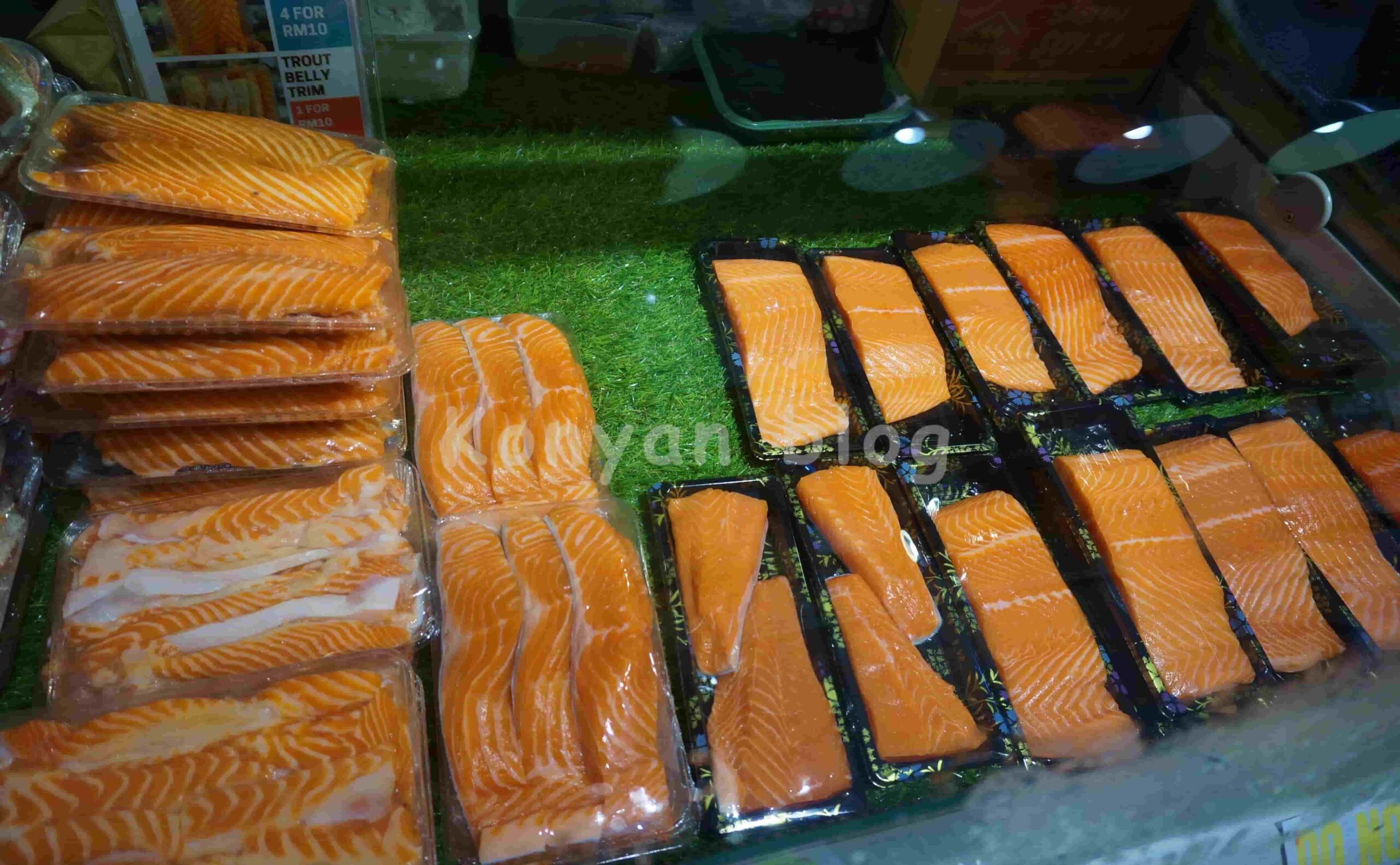 Top Catch Fisheries OUG 一頂魚屋 刺身 マレーシア KL OUG
