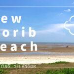 new morib beach pantai morib baharu 日帰り セランゴール 浜辺 海 マレーシア 車