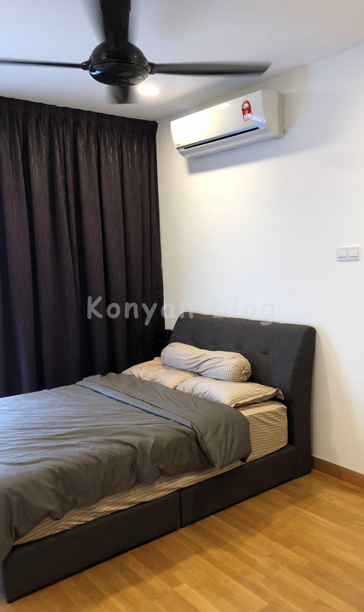 マレーシア 天井扇風機 エアコン